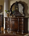 Traditional Dresser w/ Mirror MCFB6002-DM