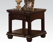 Traditional End Table in Cherry Anondale by Acme Furniture AC10323