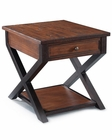 Traditional End Table Lucerne by Magnussen MG-T2981-03