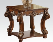 Traditional End Table Vendome Cherry by Acme Furniture AC82001