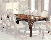 Traditional Expandable Dining Table in Cherry MCFRD0017-DT