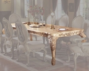 *Traditional Expandable Dining Table in White MCFRD0018-DT