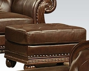 Traditional Ottoman in Cherry Anondale by Acme Furniture AC15034