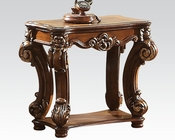 Traditional Side Table Vendome Cherry by Acme Furniture AC82003
