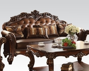 Traditional Sofa Vendome Cherry by Acme Furniture AC52001