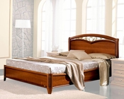 Traditional Style Bed Classic Made in Italy 33B492