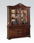 Traditional Style Buffet w/ Hutch Gwyneth II by Acme Furniture AC62865