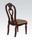 Traditional Style Side Chair Gwyneth II by Acme AC62863 (Set of 2)