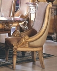 Traditional Upholstered Chair in Antique Beige MCFRD300-CS (Set of 2)