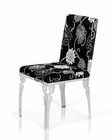 Transitional Design Dining Chair 44D109-CH (Set of 2)