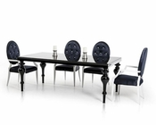 Transitional Dining Set in Contemporary Style 44D212-SET