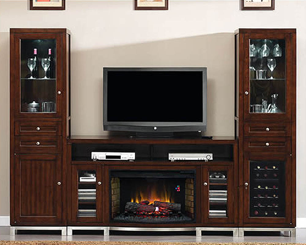 Tresanti Entertainment Center W Wine Amp Beverage Cooler Ts
