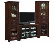 Tresanti Entertainment Center w/Wine Cooler Dakota TS-TC-1066-O128S2