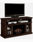 "Tresanti Fireplace 60"" TV Console Dakota TS-26MM1066-O128"