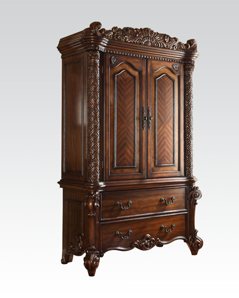 TV Armoire Vendome Cherry by Acme Furniture AC22007_KIT