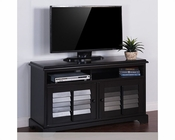 TV Console Black by Sunny Designs SU-3497B