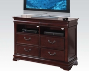 TV Console in Cherry Finish Gwyneth by Acme Furniture AC21867