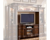 TV Console in Classic Cherry Finish MCFE9100-TV