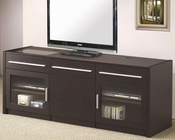 TV Console with Hidden Mobile Computer Caddy CO700674