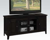 TV Stand in Black in Contemporary Style by Acme Furniture AC10344