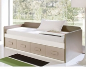 Twin Bed with Drawers European Design Made in Spain 33JB22