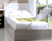 Twin Bed with Storage European Design Made in Spain 33JB15