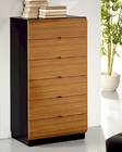 Two Tone 6 Drawer Chest 33B197