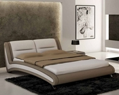 Two Tone Bed in Modern Style European Design 33B532