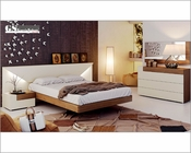 Two Tone Bedroom Set in Modern Style Elena 3313EL