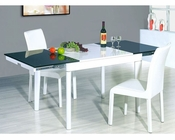 Two Tone Dining Set European Design 33D371