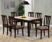 Two Tone Dining Set in Cappuccino MO-6092