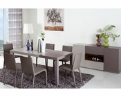 Two-Tone Dining Set in Contemporary Style 44D852-SET