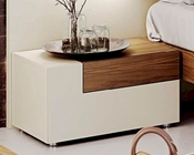 Two Tone Left Night Stand in Modern Style Elena 33170EL