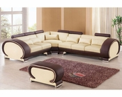 Two Tone Sectional Sofa Set European Design 33LS201