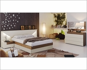 Two Tone Modern Bedroom Set Elena 33131EL