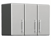 Ulti-MATE Garage PRO 3-Door Partitioned Wall Cabinet GA-08PC