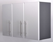 Ulti-MATE Storage 3-Door Wall Cabinet in Starfire Pearl GA-08SW