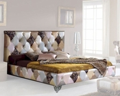 Upholstered Bed Modern Style Made in Spain Tiffany 33140TF
