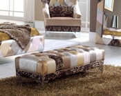 Upholstered Bench Modern Style Made in Spain Tiffany 33126TF