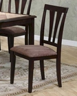Upholstered Dining Dining Chair in Cappuccino MO-6092CH( Set of 2 )
