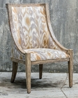 Uttermost Alabaster Driftwood Accent Chair UT-23634