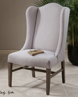 Uttermost Aleela Linen Wing Chair UT-23182