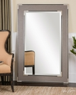 Uttermost Alfred Oversized Gray-Tan Mirror UT-14489