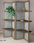Uttermost Anakaren Screen w/ Shelves UT-24511