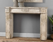 Uttermost Arvel Weathered White Mantel UT-24442