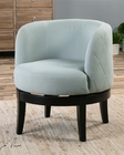 Uttermost Aurick Gray Swivel Chair UT-23193