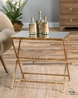 Uttermost Azlyn Gold Side Table UT-24474