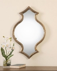 Uttermost Bagara Antiqued Gold Mirror UT-12912