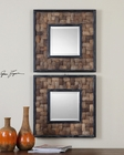 Uttermost Barros Squares Mirror UT-07062 (Set of 2)
