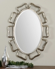 Uttermost Beccaria Silver Oval Mirror UT-12874